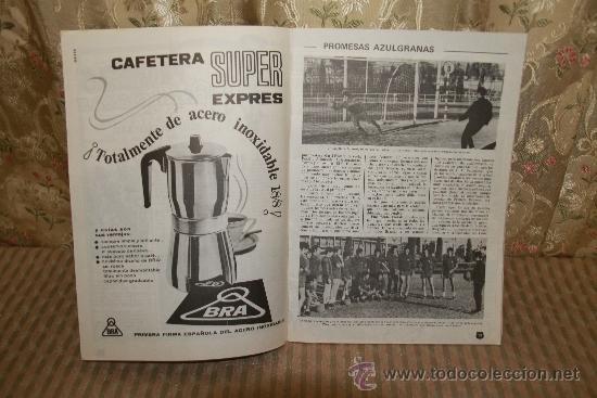 Coleccionismo deportivo: 2446- LOTE DE DOCUMENTOS DEL C.F. BARCELONA. 1949/1970. VER DESCRIPCION. - Foto 5 - 35665903