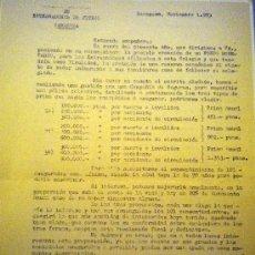 Coleccionismo deportivo: PAPELES CARTAS ESCRITOS COLEGIO ARAGONES ENTRENADORES DE FUTBOL ZARAGOZA. Lote 35923159