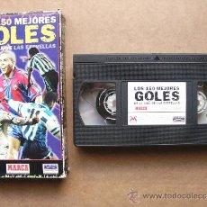 Coleccionismo deportivo: PELICULA DE VIDEO VHS LOS 150 MEJORES GOLES DE LA LIGA DE LAS ESTRELLAS. Lote 36435933