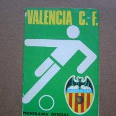 Coleccionismo deportivo: PROGRAMA OFICIAL VALENCIA C.F- R.C.D ESPAÑOL 1973-1974 73-74 CAMPEONATO DE LIGA. Lote 36705180
