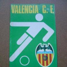 Coleccionismo deportivo: PROGRAMA OFICIAL VALENCIA C,F- SPORTING DE GIJON 1973-1974 73-74 CAMPEONATO DE LIGA. Lote 36721235