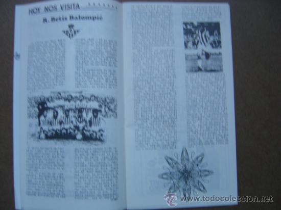 Coleccionismo deportivo: PROGRAMA OFICIAL VALENCIA C,F- REAL BETIS 1973-1974 73-74 CAMPEONATO DE LIGA - Foto 3 - 36720981