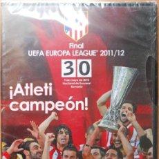 Coleccionismo deportivo: DVD FINAL UEFA EUROPA LEAGUE 2011/2012 - ATLETICO DE MADRID CAMPEON - ATHLETIC 11/12. Lote 36727332