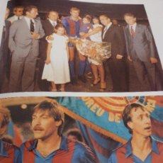 Coleccionismo deportivo: DG- FOTOS HOMENAJE REIXACH(10 X 15) MIGUELI(10 X 15)-PAPEL SATINADO-(233). Lote 37697691