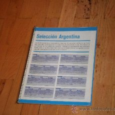 Coleccionismo deportivo: FUTBOL ARGENTINO. SELECCION ARGENTINA. PARTIDOS DISPUTADOS 1901-2003. Lote 37781533