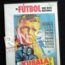 Coleccionismo deportivo: KUBALA LOS ASES BUSCAN LA PAZ - DVD PELÍCULA LADISLAO BIOGRAFÍA FÚTBOL BARCELONA FC DEPORTE CINE. Lote 38385402