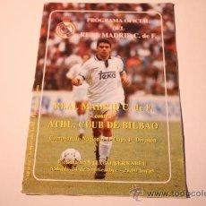 Coleccionismo deportivo: PROGRAMA OFICIAL REAL MADRID CF. TEMPO 93/94. PARTIDO CONTRA EL BILBAO. Lote 39065788