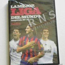 Coleccionismo deportivo: LA MEJOR LIGA DEL MUNDO DVD PRECINTADO - TEMPORADA 09 10 - FÚTBOL DEPORTE ESPAÑA 2009 DIARIO PÚBLICO. Lote 39343352