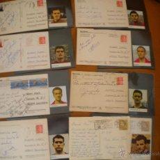 Coleccionismo deportivo: IMPORTANTE LOTE DE 12 POSTALES ESCRITAS POR JUGADORES DEL CLUB DE FUTBOL BARCELONA.. Lote 39471072