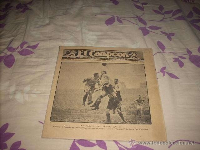 ALBUM DE CAMPEON DEL AÑO 1922 (Coleccionismo Deportivo - Documentos de Deportes - Otros)