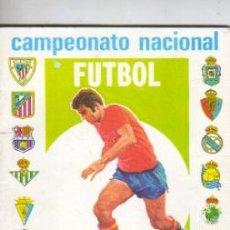 Coleccionismo deportivo: CALENDARIO CAMPEONATO NACIONAL DE FUTBOL . 1ª Y 2ª DIVISIÓN TEMP, 1981-82 PUBLIC. IMEDIO PEGAMENTO. Lote 39985441