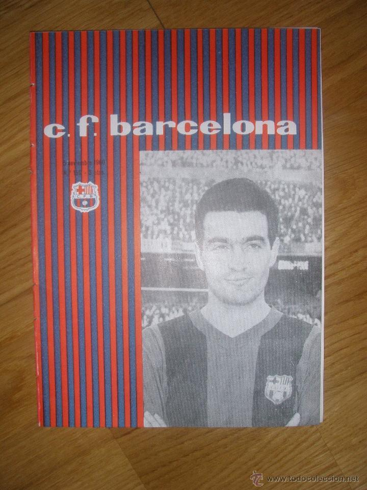 PROGRAMA OFICIAL FC BARCELONA CONTRA BASCONIA MARZO 62 (Coleccionismo Deportivo - Documentos de Deportes - Otros)