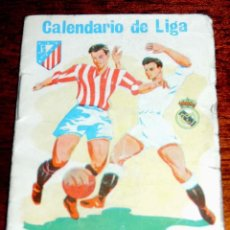 Coleccionismo deportivo: CALENDARIO DE LIGA - TEMPORADA 1973 - 74 - FUTBOL 1 ª DIVISION - MIDE 10,5 X 7,5 CMS. - TIENE APUNTA. Lote 40541130
