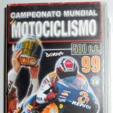 Coleccionismo deportivo: DOBLE VHS CAMPEONATO MUNDIAL MOTOCICLISMO ALEX CRIVILLE CAMPEON AÑO 1999 VINTAGE. Lote 40768146