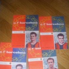 Coleccionismo deportivo: PROGRAMA OFICIAL BARCELONA VS. ATLETICO MADRID TEMPORADA 1961/1962. Lote 40928781