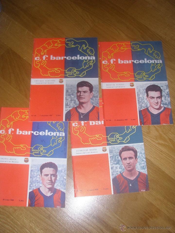 PROGRAMA OFICIAL BARCELONA VS. REAL MADRID COPA TEMPORADA 1961/1962 (Coleccionismo Deportivo - Documentos de Deportes - Otros)