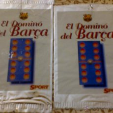 Coleccionismo deportivo: SOBRE ENTREGA DOMINÓ DEL BARÇA - DIARIO SPORT - FC BARCELONA - MERCHANDASING FC BARCELONA. Lote 41366206