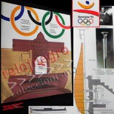 Coleccionismo deportivo: PROGRAMA DE CEREMONIA INAUGURACIÓN BARCELONA 92 DEPORTE JUEGOS OLÍMPICOS ESPAÑA 1992 TIPO LIBRO JJOO. Lote 41456933