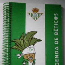 Coleccionismo deportivo: BETIS AGENDA DE BETIC@S 2009 BETICOS ILUSTRACIONES CRISTOBAL RODRIGUEZ LEIVA. Lote 41534154