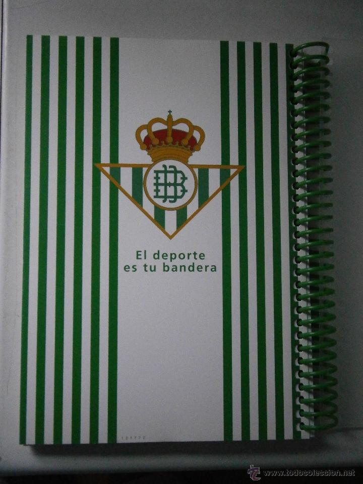 Coleccionismo deportivo: BETIS Agenda de Betic@s 2009 Beticos Ilustraciones Cristobal Rodriguez Leiva - Foto 3 - 41534154