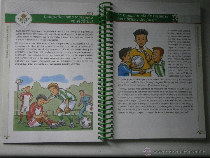 Coleccionismo deportivo: BETIS Agenda de Betic@s 2009 Beticos Ilustraciones Cristobal Rodriguez Leiva - Foto 7 - 41534154