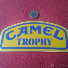Coleccionismo deportivo: ESCASA PEGATINA ADHESIVO RALLY CAMEL TROPHY AÑOS 80 ?? BUEN ESTADO GENERAL. AVENTURAS. Lote 41604325