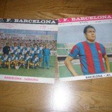 Coleccionismo deportivo: PROGRAMA OFICIAL FC BARCELONA CONTRA REAL SOCIEDAD 1968/9. Lote 41988710