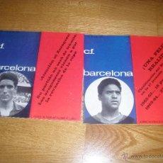 Coleccionismo deportivo: PROGRAMA OFICIAL FC BARCELONA CONTRA ESPAÑOL COPA 1963/4. Lote 41989150