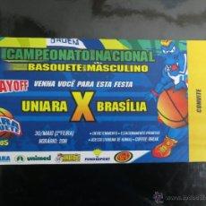 Coleccionismo deportivo: CAMPEONATO DE BALONCESTO MASCULINO DE BRASIL (PLAYOFF) 2005. Lote 42337659