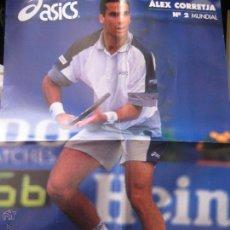 Coleccionismo deportivo: POSTER DE TENIS DE ALEX CORRETJA Nº 2 MUNDIAL - DIARIO SPORT. Lote 42518835