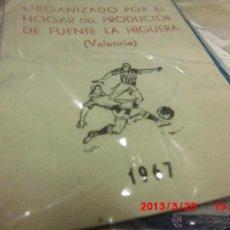 Coleccionismo deportivo: CURIOSO ALBUM ANTIGUO FUTBOL CAMPEONATO VALENCIA ELCHE SAX CAUDETE ELDA F LA HIGUERA BAÑERES. Lote 42533786