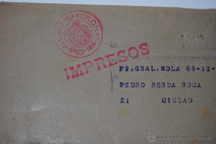 Coleccionismo deportivo: MEMORIA Y BALANCES GENERALES C.F.BARCELONA 1950-1951(62 PAGINAS) - Foto 4 - 42574371