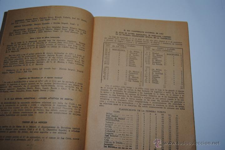 Coleccionismo deportivo: MEMORIA Y BALANCES GENERALES C.F.BARCELONA 1950-1951(62 PAGINAS) - Foto 8 - 42574371