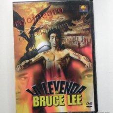 Coleccionismo deportivo: LA LEYENDA DE BRUCE LEE - DVD DOCUMENTAL BIOGRAFÍA - LUCHADOR ACTOR CINE ARTES MARCIALES ENTREVISTA. Lote 42643018