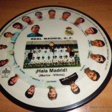 Coleccionismo deportivo: HIMNO MADRID ORQUESTA MARAVELLA PICTURE DISC 1972 RARO Y DIFICIL PARA COLECCIONISTAS. Lote 42696204