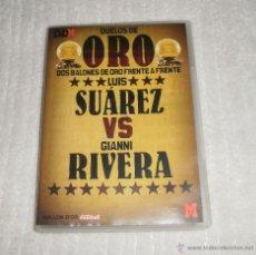 Coleccionismo deportivo: DVD BALÓN DE ORO, 4. LUIS SUÁREZ VS GIANNI RIVERA. Lote 42856029