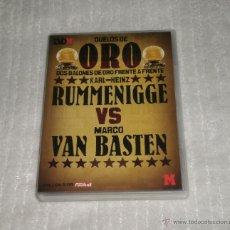 Coleccionismo deportivo: DVD BALÓN DE ORO, 8. KARL-HEINZ RUMMENIGGE VS MARCO VAN BASTEN. Lote 42871681