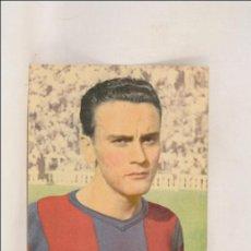 Coleccionismo deportivo: ANTIGUO FOTOCROMO DEL CF BARCELONA - BIOSCA - SEGUNDO GRAN CONCURSO CHAMPAÑA CASTELLBLANCH - FÚTBOL. Lote 43252422