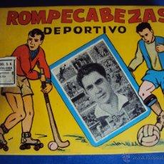 Coleccionismo deportivo: (F-556)ROMPECABEZAS DEPORTIVO DE RAMALLETS,C.F.BARCELONA. Lote 43273489