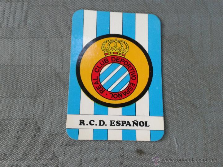 Calendario Lfp.Calendario 1988 Rcd Espanyol R C D Espanol Club Periquito Futbol Primera Division Lfp