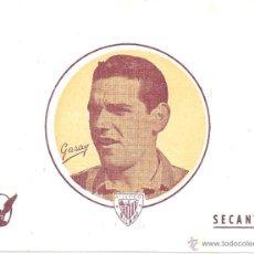 Coleccionismo deportivo: LOTE DE 16 PAPELES SECANTES - GARAY - ATLÉTICO BILBAO - 15,7 * 12,4 CM - AÑOS 50. Lote 43453916