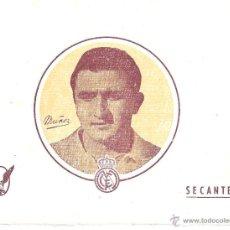 Coleccionismo deportivo: LOTE DE 20 PAPELES SECANTES - MUÑOZ - REAL MADRID - 15,7 * 12,4 CM - AÑOS 50. Lote 43453980