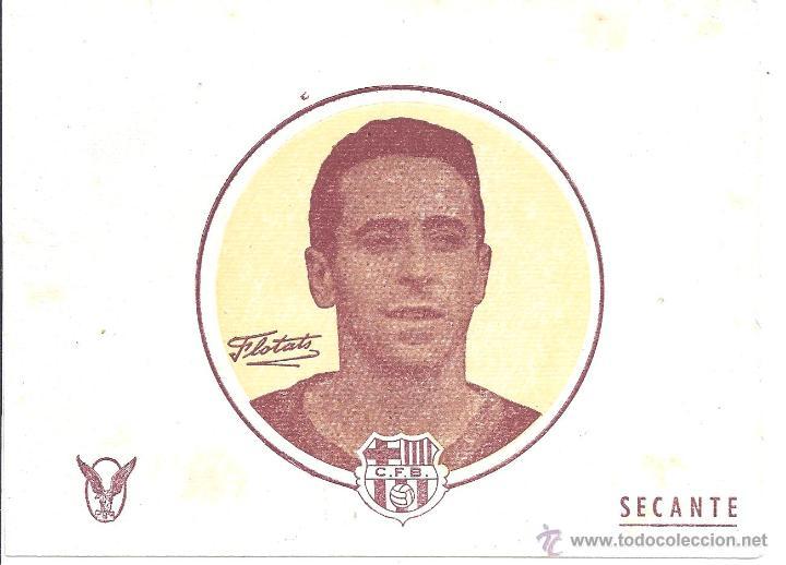 LOTE DE 9 PAPELES SECANTES - FLOTATS - C.F. BARCELONA - 15,7 * 12,4 CM - AÑOS 50 (Coleccionismo Deportivo - Documentos de Deportes - Otros)