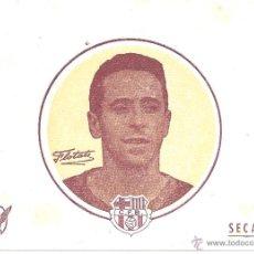 Coleccionismo deportivo: LOTE DE 9 PAPELES SECANTES - FLOTATS - C.F. BARCELONA - 15,7 * 12,4 CM - AÑOS 50. Lote 43454002