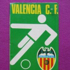 Coleccionismo deportivo: PROGRAMA DE FUTBOL, C.REAL MURCIA - VALENCIA C.F, CAMPEONATO LIGA 1973-74. Lote 43545151