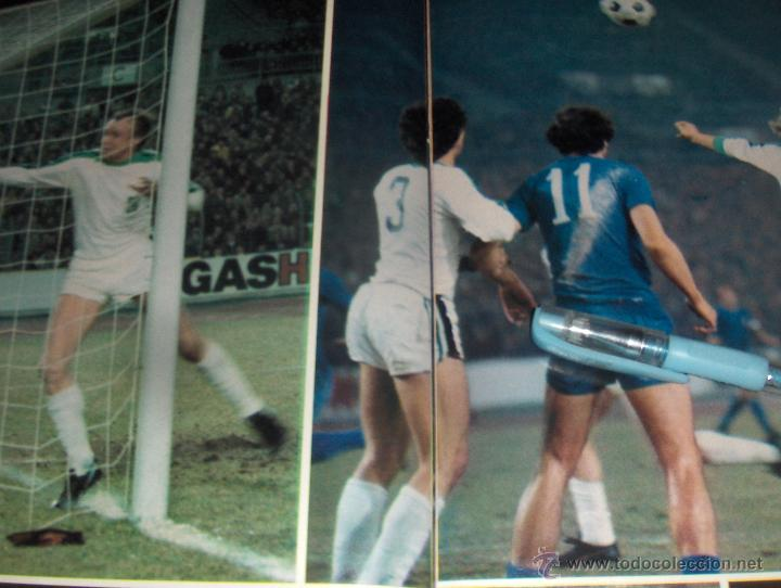 Coleccionismo deportivo: REPORTAJE GRAFICO, TRAS LA SEPTIMA COPA DE EUROPA EL REAL MADRID LANZADO. 9 PAGINAS. - Foto 3 - 43555624