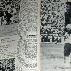 Coleccionismo deportivo: REPORTAJE GRAFICO, PELE PORTERO. 2 PAGINAS.. Lote 43556327