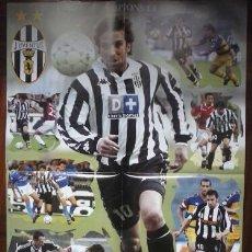 Coleccionismo deportivo: POSTER ALESSANDRO DEL PIERO. JUVENTUS DE TURIN. Lote 43615060