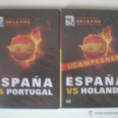 Coleccionismo deportivo: DVD'S MUNDIAL SUDÁFRICA 2010 (NUEVOS). Lote 43911603