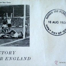 Coleccionismo deportivo: STAMP FIRST DAY COVER FIRST DAY OF ISSUE FIFA WORLD CUP FOOTBALL ENGLAND 1966. Lote 44011054